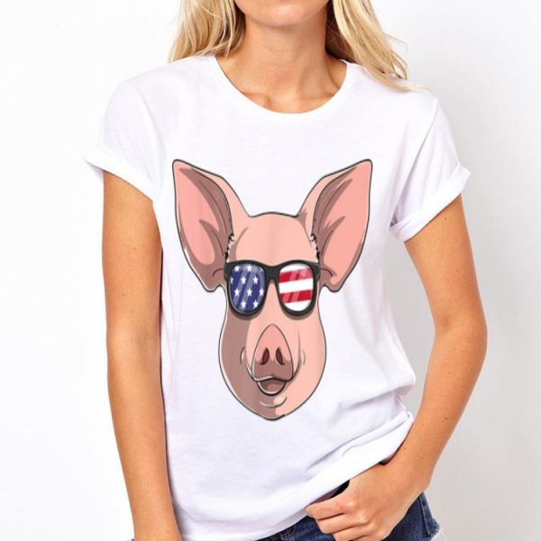 Pig Patriotic Usa 4Th Of July American Piggy shirt