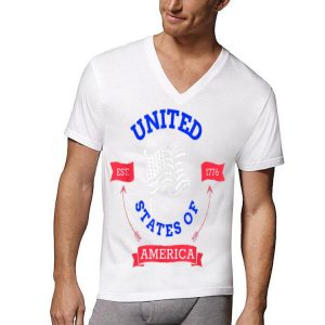 United States Of America Est 1776 Logo shirt