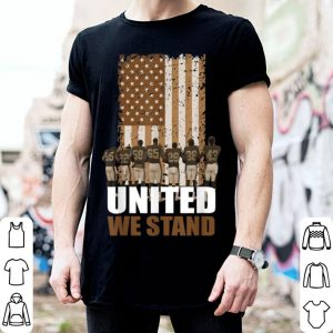 United We Stand For The Flag National Anthem shirt
