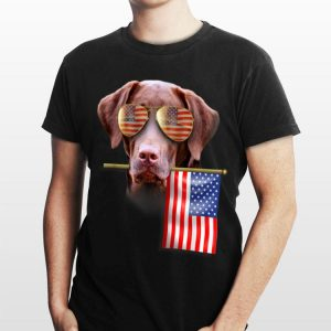 4th of July American Flag Labrador Dog Lover shirt