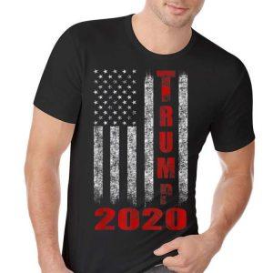 American Flag Trump 2020 hoodie