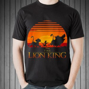 Awesome Disney Lion King Sunset Squad shirt