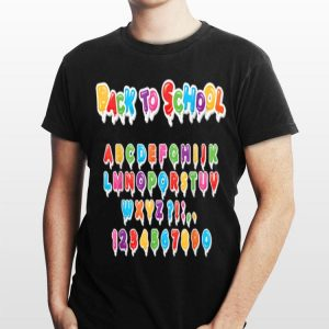 Back To Shool for Kids and Teacher shirt