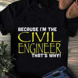 Because I'm The Civil Engineer That's Why sweater