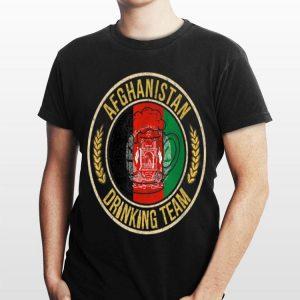 Beer Afghanistan Drinking Team shirt