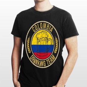 Beer Colombia Drinking Team Casual shirt