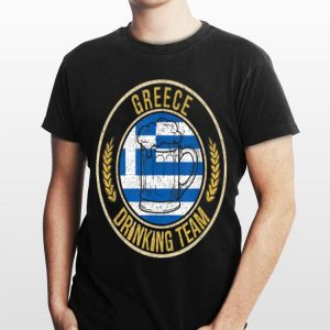 Beer Greece Drinking Team Casual shirt