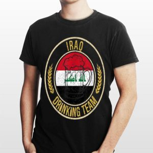 Beer Iraq Drinking Team Casual shirt