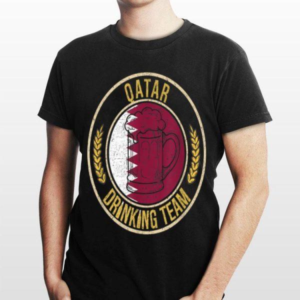 Beer Qatar Drinking Team Casual shirt