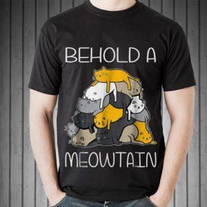 Begold A Meowtain Cat Mountain hoodie