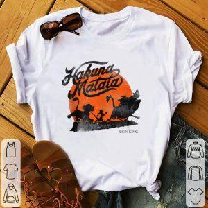 Best price Disney Lion King Hakuna Matata Trio Orange Sunset shirt