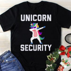 Best price Unicorn Security Dab With Sunglass shirt