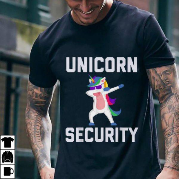 Best price Unicorn Security Dab With Sunglass shirt
