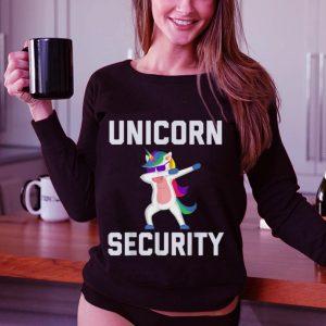 Best price Unicorn Security Dab With Sunglass shirt 2
