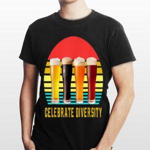 Celebrate Diversity International Beer Day Vintage shirt