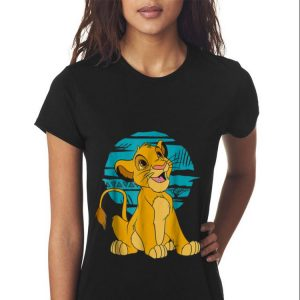 Disney The Lion King Young Simba Happy Blue Retro sweater 2
