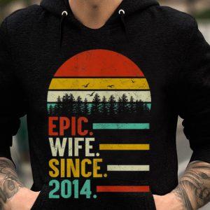 Epic Wife Since 2014 Vintage guy tee