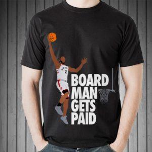 Kawhi Leonard Canada Raptor Board Man Gets Paid Slam Dunk Sweater
