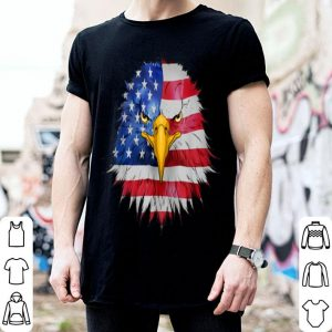 Mens Eagle American Flag Us Pride 4Th Of July shirt
