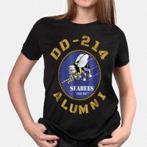 Navy Veteran Seabees Dd214 Retired shirt