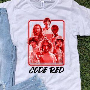 Netflix Stranger Things 3 Code Red sweater