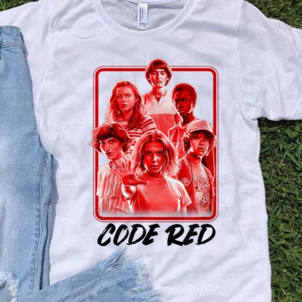 Netflix Stranger Things 3 Code Red sweater