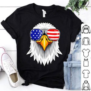 Patriotic Eagle 4th of July USA American Flag Sunglasses shirt