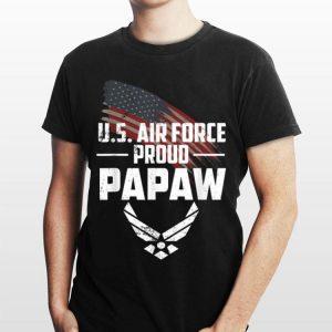 Proud Papaw Us Air Force Usaf shirt
