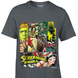 Sci Fi Horror Movie Poster Collage hoodie
