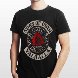 Son Of Odin Valhalla Axe Rhunes Norse Mythology shirt