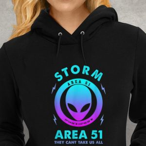 Storm Area 51 They Can't Take Us All Alien Youth tee