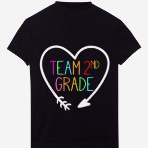 Team 2nd second Grade Teacher 1st Day of School hoodie