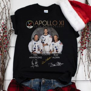 The Best Apollo 11 50th Anniversary Neil Armstrong Micheal Collins Buzz Aldrin Signature shirt