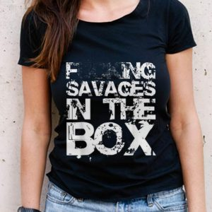 The Best Fucking Savages In The Box White Front shirt