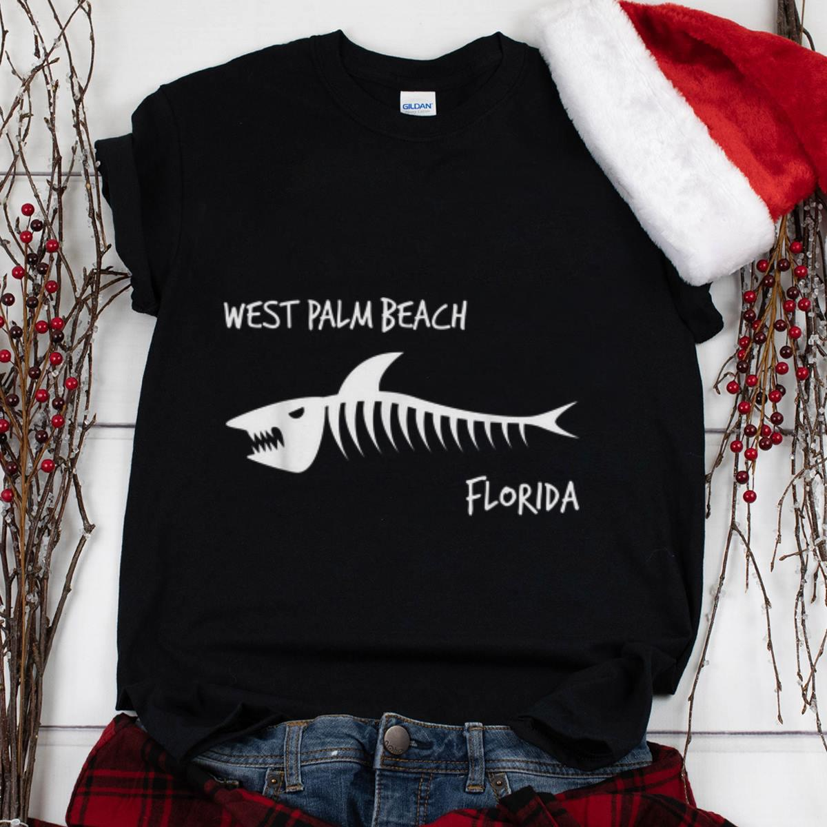 The Best West Palm Beach Florida Shark Skeleton shirt 1 - The Best West Palm Beach Florida Shark Skeleton shirt