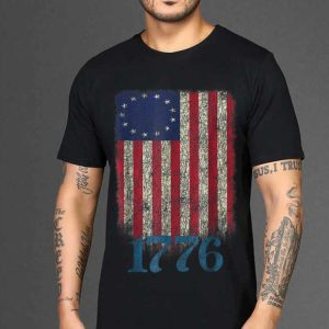 The best trend Betsy Ross Flag 4th Of July 1776 shirt
