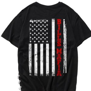 The best trend Bills Mafia USA Flag shirt