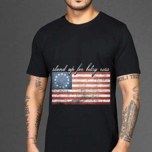 The best trend Rush Betsy Ross Limbaugh 13 Colonies Stars Stand Up For American Flag shirt