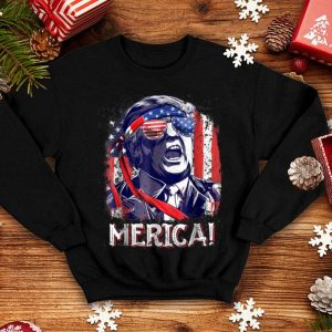 Trump Merica 4Th Of July Men Boys Kids Murica shirt