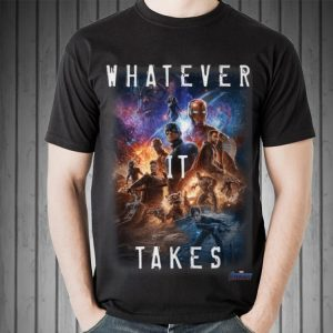 Universe Marvel Avengers Endgame Movie Poster Whatever It Takes Sweater