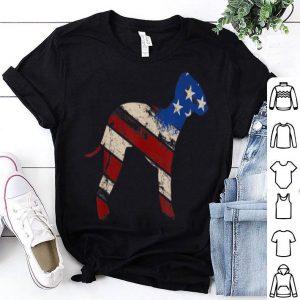 Vintage Retro Usa Bedlington Terrier American Flag shirt