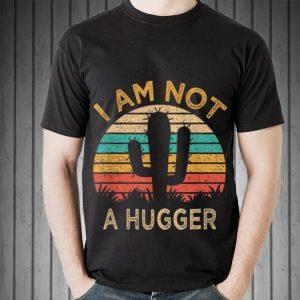 Awesome Am Not A Hugger Cactus Avoid Hugs shirt