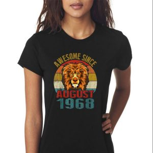 Awesome Awesome Since August 1968 Lion Vintage shirt 2