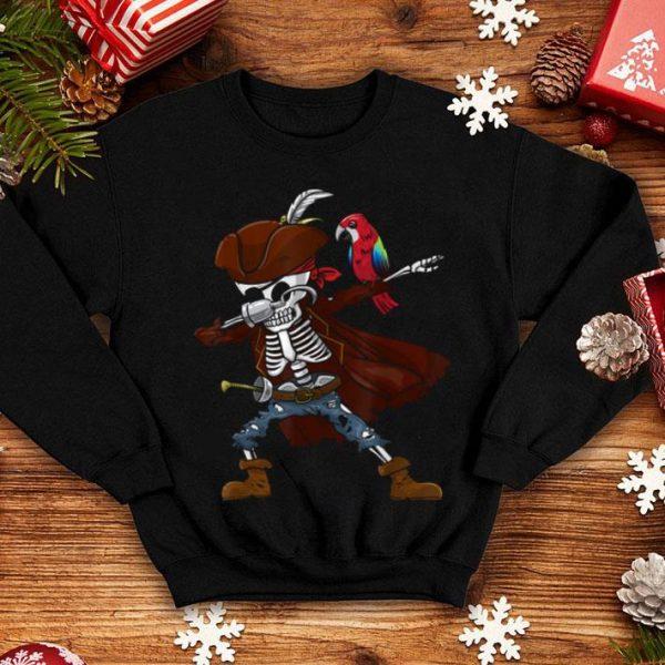 Awesome Dabbing Pirate Skeleton - Halloween - Cool Gift Boy Girl Kid shirt