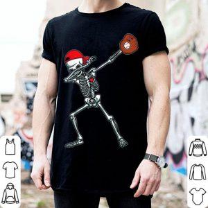 Awesome Dabbing Skeleton Baseball Funny Halloween Gift Boys shirt