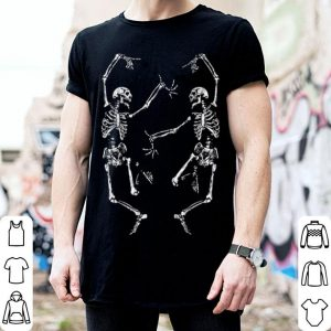 Awesome Dance Of Death Macabre Skeleton Skull Halloween 2018 shirt
