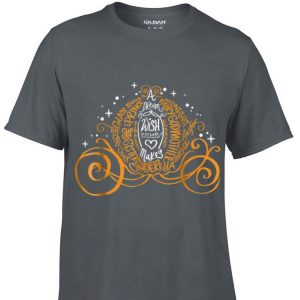 Awesome Disney Cinderella Halloween Pumpkin Coach shirt