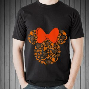 Awesome Disney Minnie Mouse Halloween Silhouette shirt 1