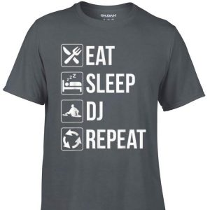 Awesome Eat Sleep Dj Repeat shirt