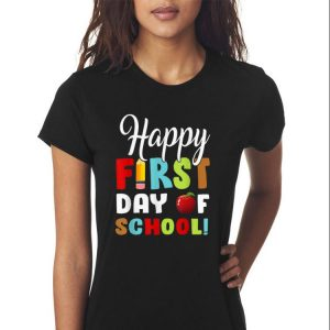 Awesome Happy First Day Of Shool shirt 2